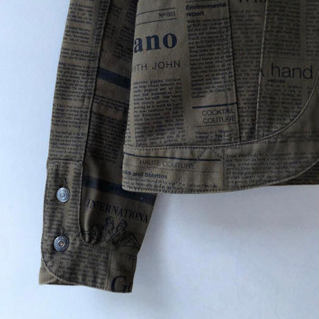 John Galliano / News Paper Jacket