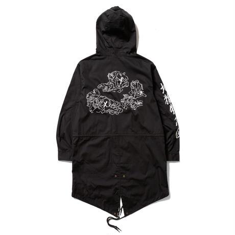 DELIVERY HELLS  /MIX MODS JKT (black)