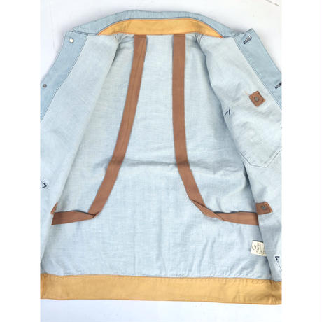"PHINGERIN  ""Scouty coverall"" (sax blue)"