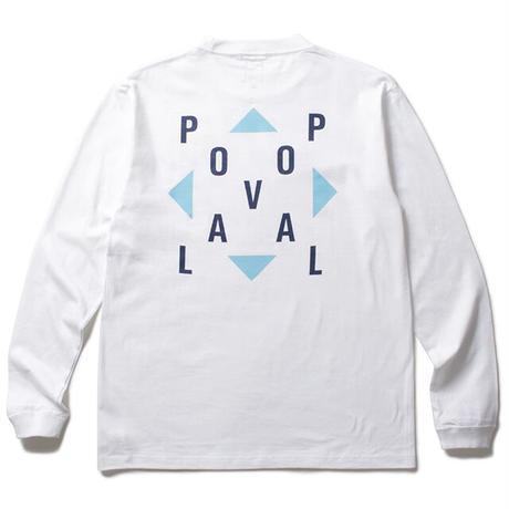 CABARET POVAL / Pin Logo L/S Tee (white)