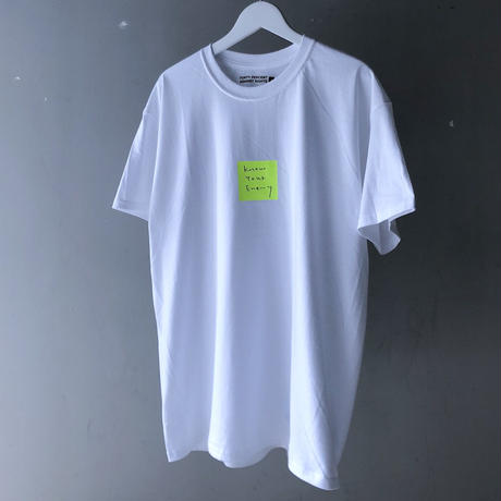 "FORTY PERCENT AGAINST RIGHTS  "" Enemy SS tee ""  (white)"