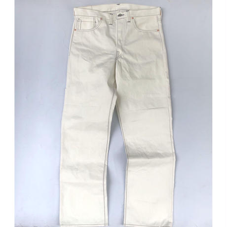 CSF for THREE FACE/ denim pants (white)
