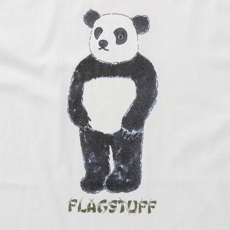"F-LAGSTUF-F / ""PANDA""  Tee (white)"