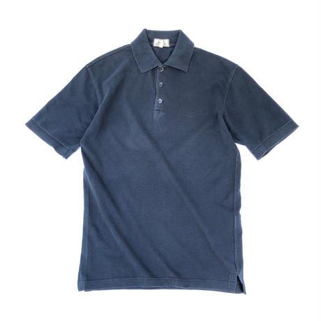"HERMES /  ""H"" S/S Polo Shirt  (navy)  (Hi brand hurugi)"