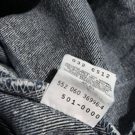 "90's-00's Levi's 501  ""Made in USA""  (spice)"