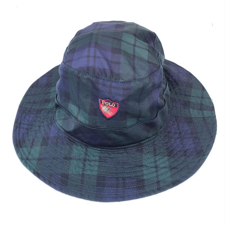 "POLO GOLF "" Black Watch Hat ""  (spice)"