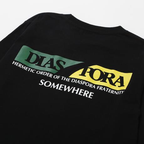 Diaspora skateboards / Scotch L/S Tee (black)