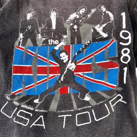 The KINKS USA Tour Tee (spice)