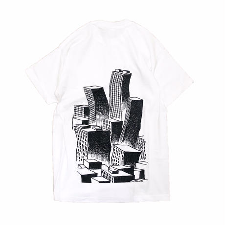 VOYAGE / Society Pocket S/S Tee (white)