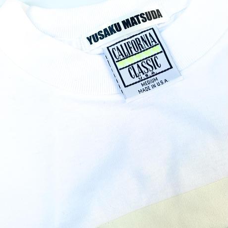 "1997 YUSAKU MATSUDA  "" EXHIBITION "" Tee デッドストック   (spice)"