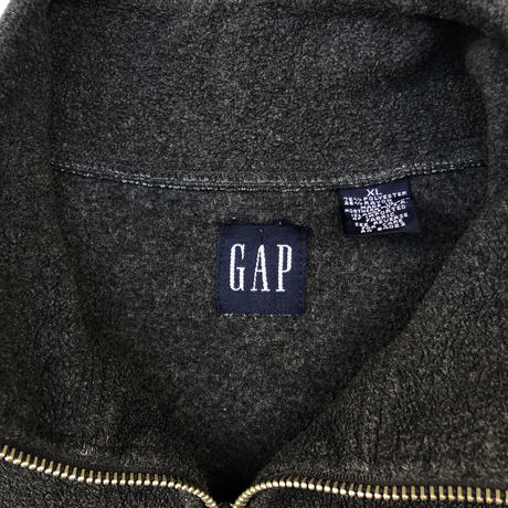 "90's GAP ""Fleece Pull over   (spice)"