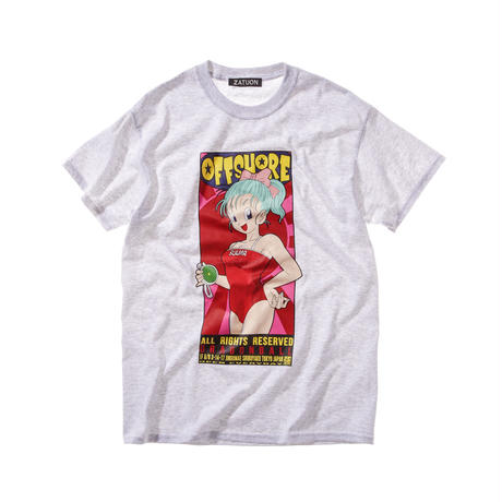offshore × DRAGON BALL × ZATUON / Poster Tee (gray)