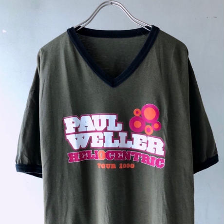 "00's Paul Weller ""HELIOCENTRIC TOUR"" Tee (spice)"