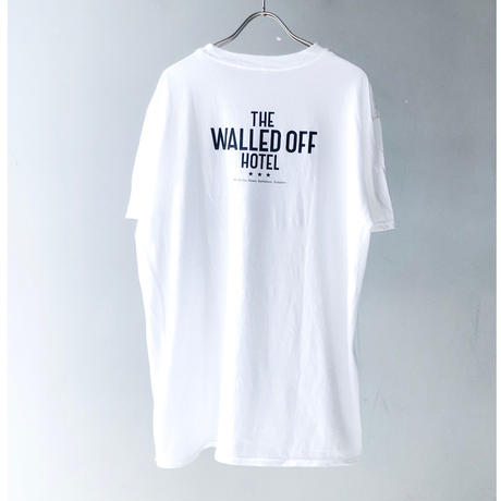 """THE WALLED OFF HOTEL"" Tee (white) (spice)"
