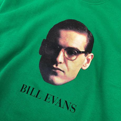 "WACKO MARIA / BILL EVANS ""Crew neck sweat shirt"" (green)"