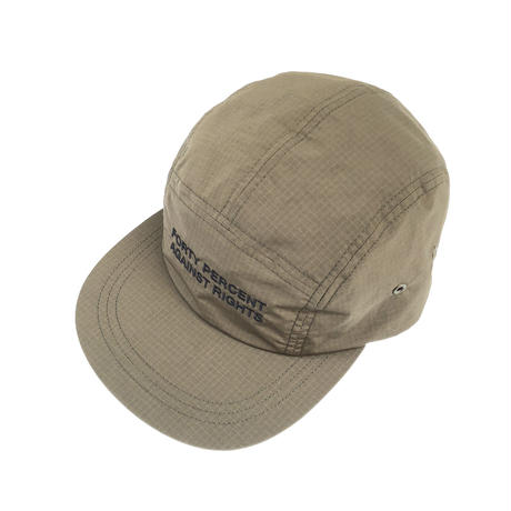 FORTY PERCENT AGAINST RIGHTS / SINCE 6Panel Cap (olive drab)