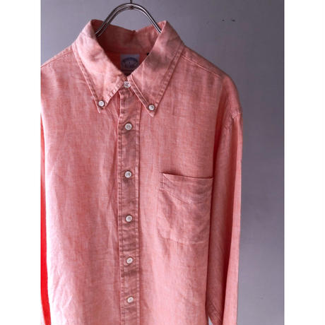 "Brooks Brothers "" B.D  Linen shirt ""  (spice)"