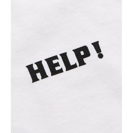Help! Logo  L/STee (orange)