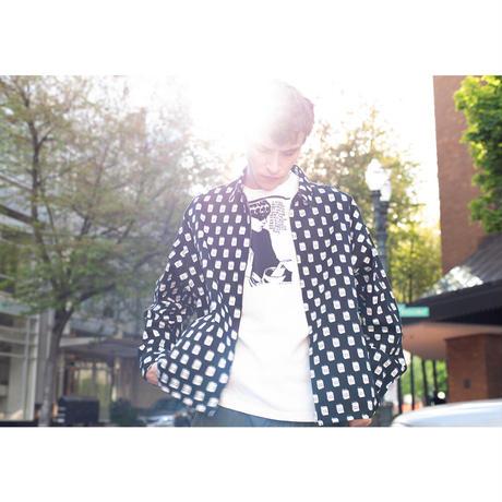 "F-LAGSTUF-F × Sonic Youth ""Tee1""  (white)"
