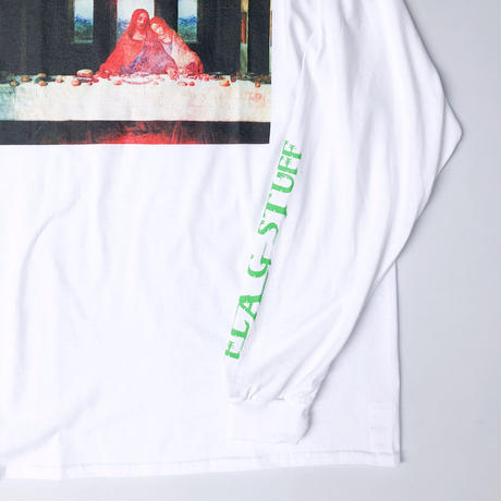 "F-LAGSTUF-F / ""Supper"" L/S Tee (white)"