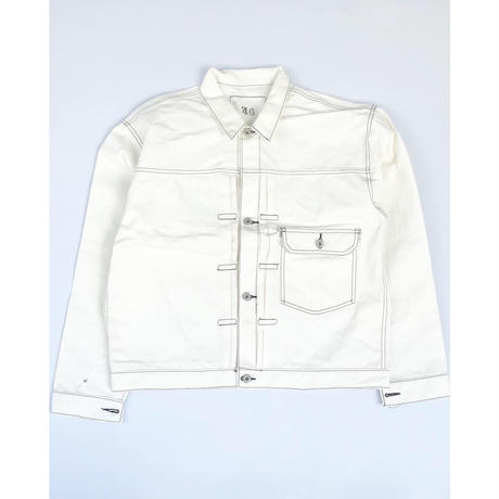 THREE FACE for CSF / denim jacket (white)