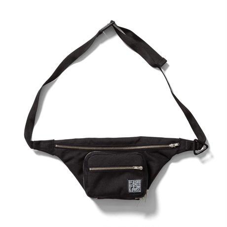 F-LAGSTUF-F / travel waist bag (black)