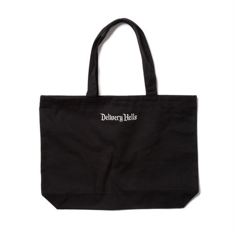"Delivery Hells / ""Delivery Hells"" TOTE BAG (L) (black)"
