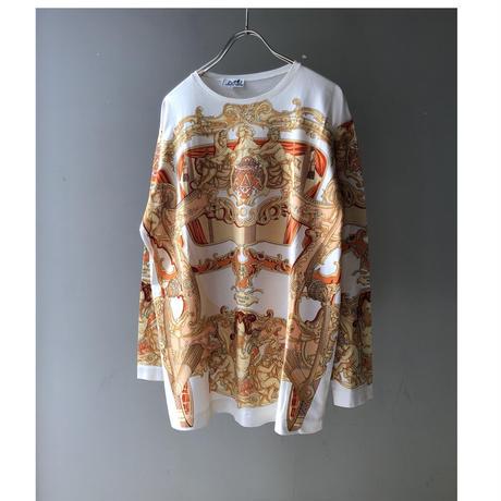 HERMES / Silk scarf pattern cut-sew (Hi brand hurugi)