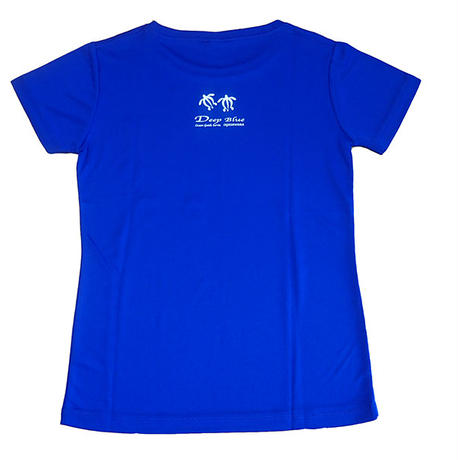 XラインTシャツ カメ(コバルトブルー)