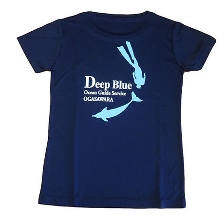 XラインTシャツ DeepBlue