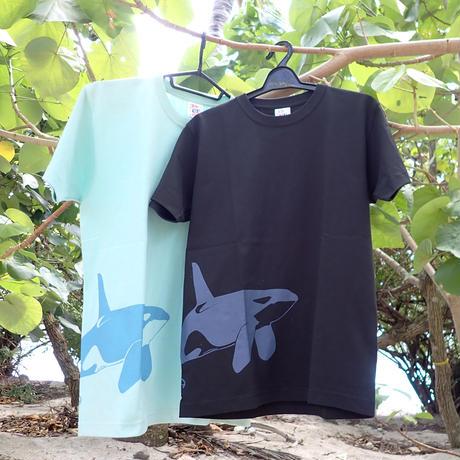 シャチイラストTシャツ