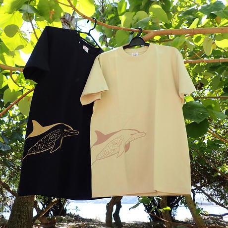 ミナミハンドウイルカイラストTシャツ
