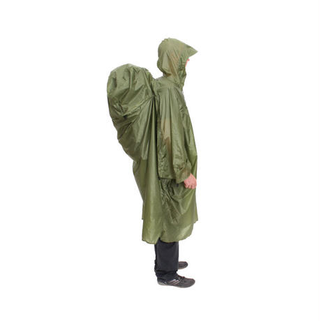 EXPED / PACK PONCHO UL M グリーン
