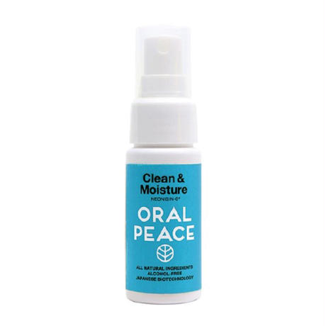 ORALPEACE / CLEAN&MOISTURE MINT SPRAY 30ml