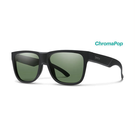 SMITH / Lowdown XL 2 Matte Black(ChromaPop Polarized Gray Green)