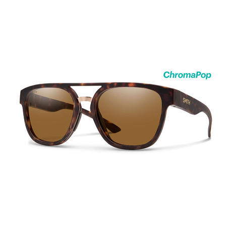 SMITH|Agency/Matte Tort|Polarized Brown