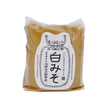 【DM便180円】加藤兵太郎商店|いいちみそ 白みそ 200g