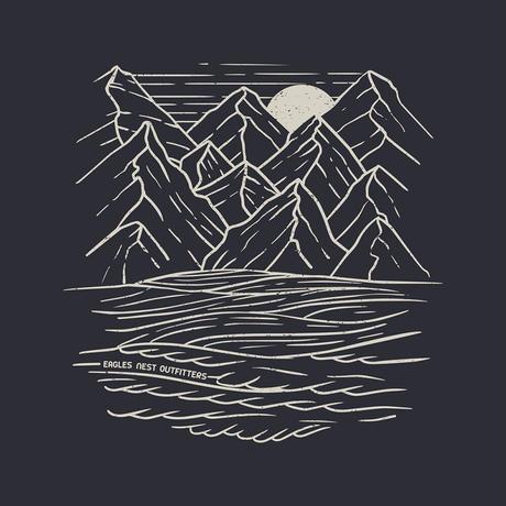 【DM便180円】ENO|Mountains to Sea Tee