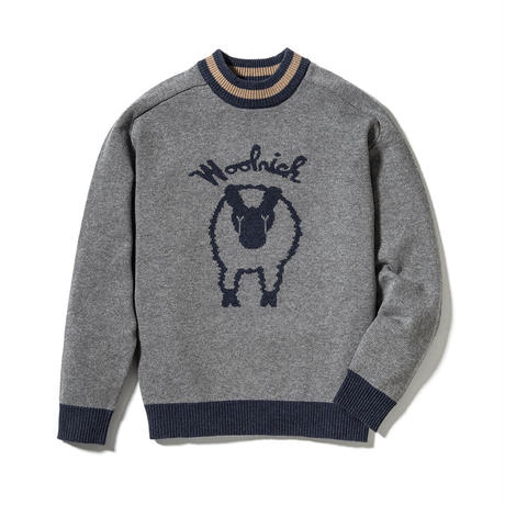 WOOLRICH|RECYCLE LINED SWEATER