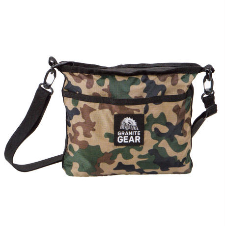【DM便180円】GRANITE GEAR|CLASSIC CAMO HIKER SATCHEL