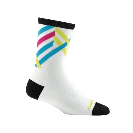 【DM便180円】DARN TOUGH / Women's 1785 Graphic Stripe Micro Crew Ultra Light Sock