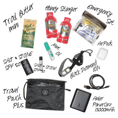 【DM便180円】RIDGE MOUNTAIN GEAR|Travel Pouch Plus X-Pac