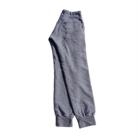 Yetina / sweat pants / fog blue