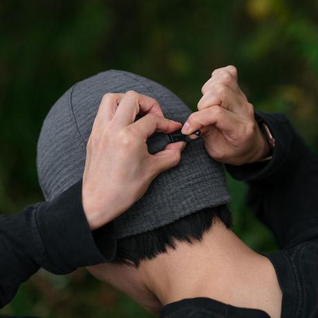 【DM便180円】RIDGE MOUNTAIN GEAR Grid Merino Earmuff Cap