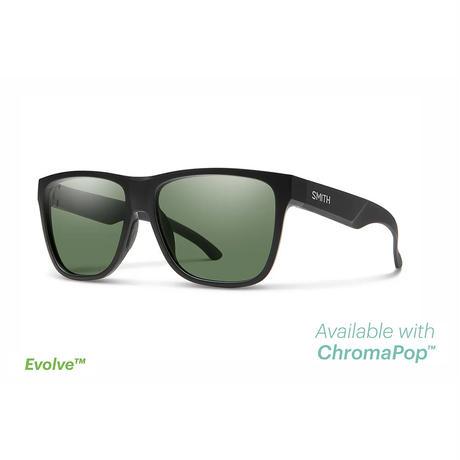 SMITH|Lowdown XL 2 Matte Black(ChromaPop Polarized Gray Green)