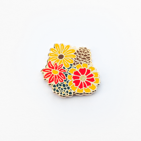 Kimberlin Co. / SMELL ENAMEL PIN