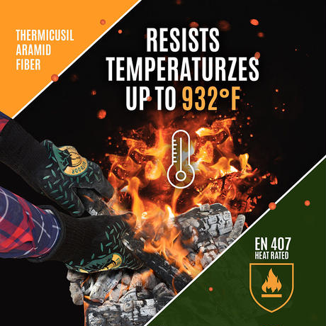 【DM便180円】Fireside Outdoor|Thermal Protection Gloves