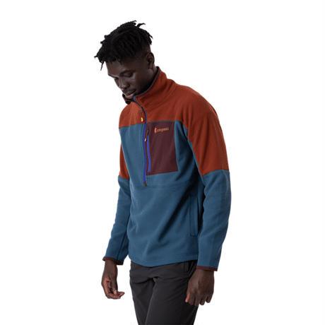 COTOPAXI|Abrazo Half-Zip Fleece Jacket - Men's(Rust/Indigo)