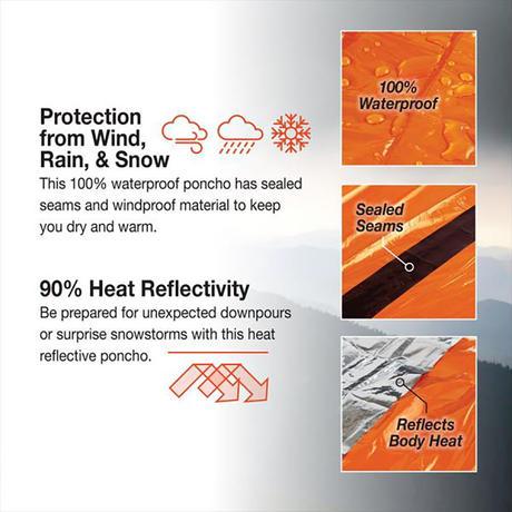 SOL / Heat Reflective Poncho
