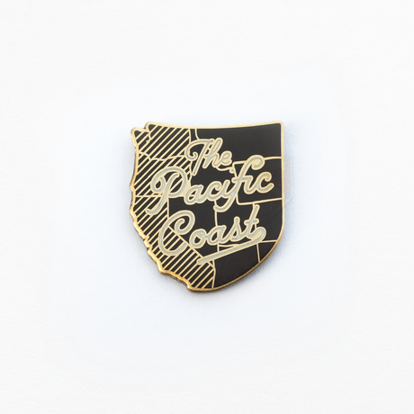 Kimberlin Co. / THE PACIFIC COAST ENAMEL PIN